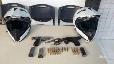 Polícia investiga ação de integrantes de grupo criminoso que invadiram morro na capital - Polícia investiga ação de integrantes de grupo criminoso que invadiram morro em Florianópolis