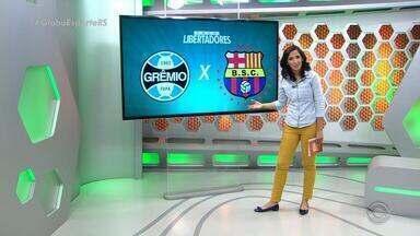 Globo Esporte RS - Bloco 3 - 31/10 - Assista ao vídeo.