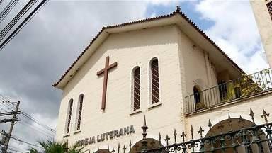 Igreja Luterana de Nova Friburgo, RJ, é a mais antiga da comunidade da América Latina - Assista a seguir.