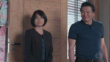 Mitusko e Noboru viajam - Tina e Telma selam um pacto de silêncio