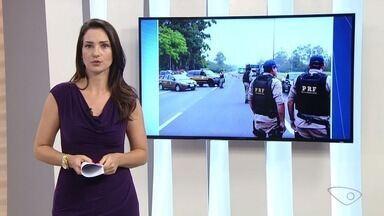 PRF começa operação do feriado de Finados nas rodovias federais do ES - Operação começou nesta quarta-feira (1) e termina na noite do domingo (5). Fiscalização e ações educativas serão intensificadas nas rodovias federais do Espírito Santo.