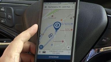 Jovem empreendedor cria aplicativo para o estacionamento rotativo de São Paulo - A mobilidade urbana caiu no gosto das startups. O PEGN.TEC mostra o aplicativo que uma dessas empresas criou para facilitar o estacionamento de carros nas ruas de São Paulo.