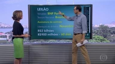 Banco Francês vai emprestar R$ 2,9 bilhões ao governo do RJ - Somente o banco Francês participou do leilão.