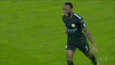 Manchester City vence Napoli de virada e garante vaga nas oitavas da Liga dos Campeões - Manchester City vence Napoli de virada e garante vaga nas oitavas da Liga dos Campeões.
