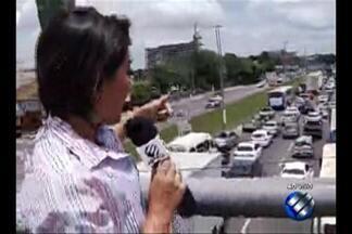 Trânsito na BR-316 é intenso durante feriado de Finados - Confira como está o trânsito na área.
