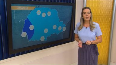 Volta a chover em todo o Paraná - A temperatura deve ficar mais baixa pela manhã.