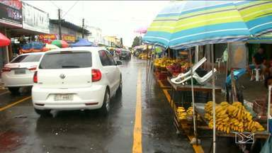 Motoristas reclamam de trânsito em áreas de comércio em Imperatriz - Em imperatriz um dos locais de trânsito mais complicados da região ganha um projeto pra tentar organizar a situação.