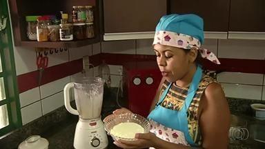 Confira receita de bolo de pão de queijo - Confira receita de bolo de pão de queijo