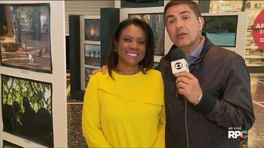 Dulcineia Novaes fala sobre bastidores do programa Globo Repórter em Madagascar - Em Curitiba, uma exposição de fotos mostra um pouco dos bastidores da produção do programa.