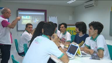 Estudantes usam matemática para reforçar aprendizagem - Esquema de trânsito será ampliado para o ENEM