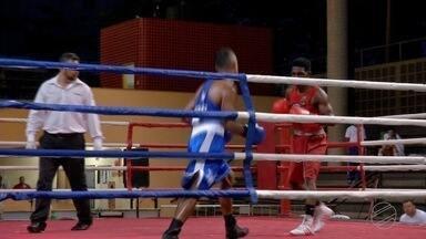 Pugilistas de vários locais do Brasil se reúnem em Campo Grande para competir - Foram 28 lutas neste fim de semana durante o Centro-Oeste de boxe.