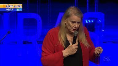 Economista Deirdre McCloskey palestra no Fronteiras do Pensamento, em Porto Alegre - Assista ao vídeo.