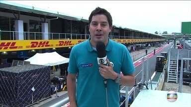 Confira os preparativos para o GP do Brasil em Interlagos - Anselmo Caparica traz as informações direto de São Paulo.