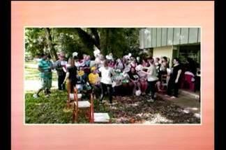 Estudantes do curso de enfermagem da Setrem realizam festa da saúde mental - 300 atendidos dos caps de dez municípios participaram do evento.