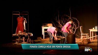 Fenata começa com dois espetáculos - Festival Nacional de Teatro começa na noite desta quarta-feira (08) e vai até dia 16.