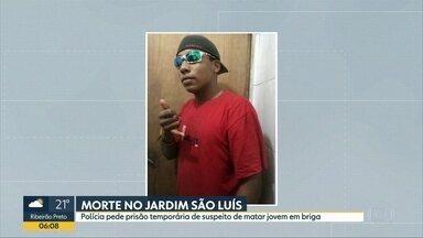 Polícia de SP pede prisão de suspeito de matar homem que defendeu irmã transexual - Luiz Carlos Mariano, de 18 anos, provocou transexual. Irmão reagiu e foi golpeado até a morte. Paradeiro pode ser informado no Disque Denúncia.
