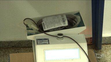 """Campanha de doação de sangue desperta solidariedade em pacientes no Maranhão - """"O amor corre nas veias"""", foi o tema da campanha para estimular a doação de sangue para o hospital geral de Peritoró"""