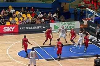 Mogi Basquete estreia com vitória no NBB - Time venceu o Ceará.