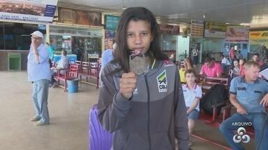 Judoca Amanda Arraes participa de competição neste fim de semana em Salvador - Amanda é de Cacoal e começa a competir com atletas mais velhos