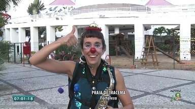 Confira a programação para o festival de circo do Ceará - Saiba mais em g1.com.br/ce