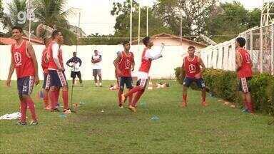Em semana decisiva da Copa Piauí, 4 de Julho mantém time titular em treino; veja - Em semana decisiva da Copa Piauí, 4 de Julho mantém time titular em treino; veja