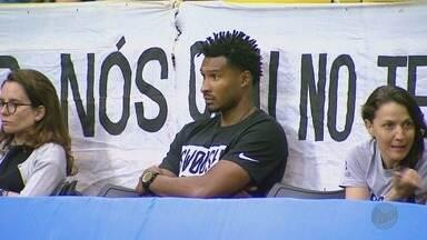 Leandrinho está próximo do Franca Basquete - Jogador foi campeão da NBA pelo Golden State Warriors, nos EUA, em 2015.