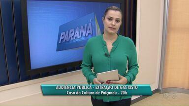 Audiência Pública sobre a extração de gás xisto será realizada em Paiçandu - A audiência será na Casa da Cultura, no Centro, às 20h.