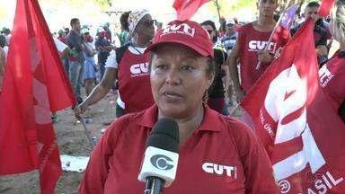 Entidades ligadas aos trabalhadores protestam contra medidas tomadas pelo Governo Federal - Mobilização aconteceu nesta sexta-feira (11).