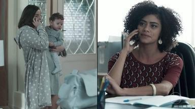 Dóris convoca Keyla para voltar às aulas - Deco teme ficar com Tonico sozinho e Tato o provoca