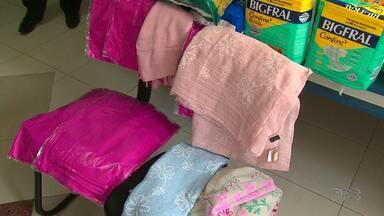 Hospital São Vicente recebe doações de produtos depois de corrida de combate ao câncer - Setor de Oncologia do hospital recebeu fraldas, cremes hidratantes e turbantes
