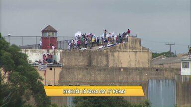 Renegociações para fim de rebelião serão retomadas na manhã de sábado - Depen confirmou até o momento apenas uma morte dentro da penitenciária durante a rebelião.