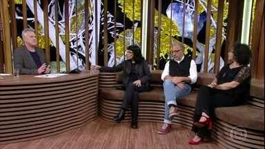 Daniela Thomas, Joel Zito Araujo e Ana Maria Gonçalves revelam suas impressões sobre filme - Bial questiona os convidados sobre suas leituras pessoais da história de 'Vazante'