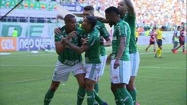 Os gols de Palmeiras 2 x 0 Flamengo pela 34ª rodada do Brasileirão - Os gols de Palmeiras 2 x 0 Flamengo pela 34ª rodada do Brasileirão