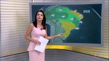 Veja a previsão do tempo para esta semana em todo o Brasil - Há previsão de temporais em grande parte das regiões Norte e Nordeste. O mar deve ficar agitado na faixa litorânea que vai do Rio Grande do Sul ao Rio de Janeiro.