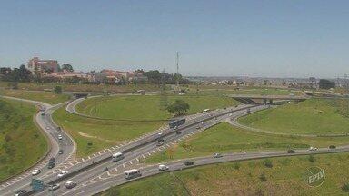 Previsão é de temperaturas elevadas na tarde desta terça na região de Campinas - Máxima pode chegar a 30ºC em algumas cidades.
