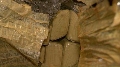 Quase 4 toneladas de maconha são apreendidas na região oeste - Uma apreensão foi em Céu Azul e outra em Marechal Cândido Rondon.