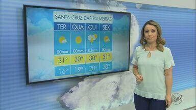 Confira a previsão do tempo desta terça-feira (14) em São Carlos e região - Confira a previsão do tempo desta terça-feira (14) em São Carlos e região.