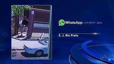 Ladrões invadem casa e furtam objetos em bairro de Rio Preto - Uma casa foi invadida por ladrões nesta segunda-feira (13) no bairro Jardim Conceição, em São José do Rio Preto (SP). Câmeras de segurança registraram a ação dos criminosos e vão ajudar a polícia na identificação.