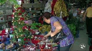 Comércio de Serra Talhada está otimista para o aumento das vendas - Lojistas se preparam para o aumento no movimento nas festas de fim de ano