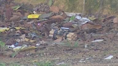 Polícia é acionada após suspeita de bomba em lixeira no Conjunto Viver Melhor, no AM - Objeto suspeito foi encontrado por funcionário que trabalha com limpeza pública.