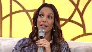 Ivete Sangalo se prepara para o nascimento de duas filhas - Cantora conta que segunda gravidez está sendo totalmente diferente da primeira e fala como conversou com o filho Marcelo sobre a chegada das meninas