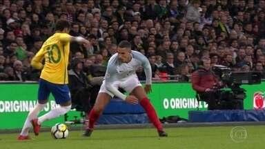 Brasil fica no 0 x 0 com a Inglaterra e encerra 2017 com saldo positivo - Brasil fica no 0 x 0 com a Inglaterra e encerra 2017 com saldo positivo