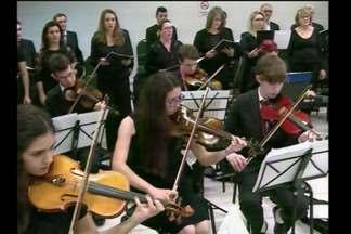 Coral e Orquestra Jovem Santa Rosa desperta gosto pela música erudita - As oficinas são de graça e abertas à comunidade.