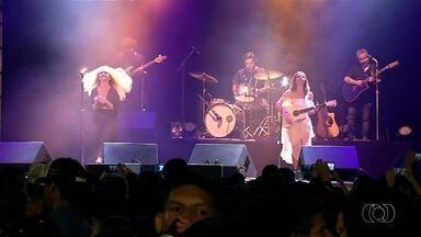 Anavitória canta em aniversário de Araguaína - Anavitória canta em aniversário de Araguaína