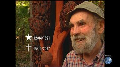 Morre no Rio de Janeiro aos 96 anos o artista plástico e ambientalista Frans Krajcberg - Veja a repercussão sobre a morte do polonês naturalizado brasileiro, que viveu em Nova Viçosa, no interior da Bahia.