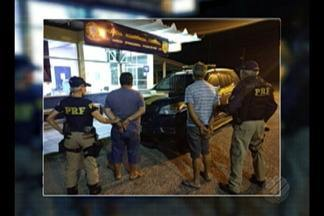 PRF prende em Ipixuna do Pará dois homens que estavam em carro roubado - Veículo foi parado na Belém-Brasília e tinha dois registros de roubo em Mato Grosso.
