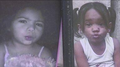 Polícia suspeita do envolvimento de terceira pessoa na morte de duas meninas em outubro - Peritos encontraram sêmen do tio de uma das meninas, Thiago Henrique Oliveira Santos, em uma camiseta dentro do furgão. Ele já está preso.