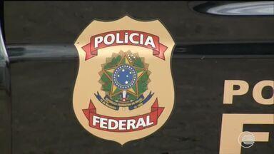 Operação da PF deflagrada em São Luís-MA cumpre mandados em Teresina - Operação da PF deflagrada em São Luís-MA cumpre mandados em Teresina