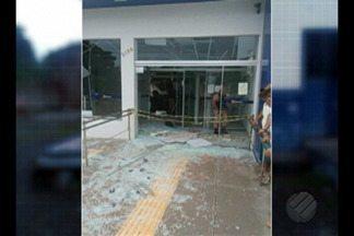 Uma agência bancária foi alvo de bandidos no município de Floresta do Araguaia - De acordo com informações da polícia, noves homens fortemente armados participaram da ação.