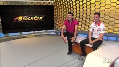 Piloto Gabriel Casagrande fala sobre expectativa pela etapa da Stock em Goiânia - Piloto participa do Globo Esporte e espera fazer boa prova no próximo domingo.